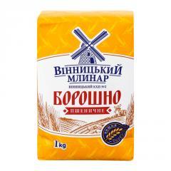"""Мука в/с """"Вінницкій Млинар"""" 1 кг"""