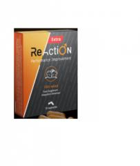 Reaction Extra (Reaction Extra) - kapszulák a hatékonyság növelésére