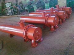 Heat exchanger heater steam-and-water boiler