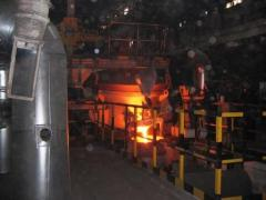 Arc steel-smelting furnaces of a direct current of