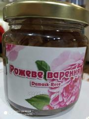 Варенье из Дамасской розы.  Это сладкая защита