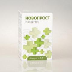 Novoprost (Novoprost) - kapszulák prosztatagyulladáshoz