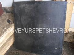 Техпластина ТМКЩ 40 мм листовая