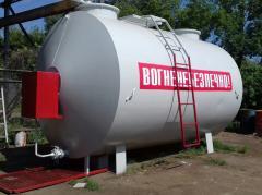 БУ мобильный топливный модуль,  цилиндрически