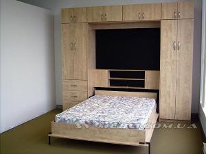 Шкаф- подъемная кровать для спальни