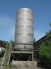 Capacities are corrosion-proof vertical. Sale in Ukraine