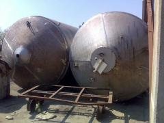 Capacities corrosion-proof 20m.kub. vertical.