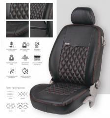 Чехлы на сиденья Volkswagen Caddy 5 мест с...