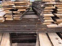 Unedged boards of conifer qualitative...