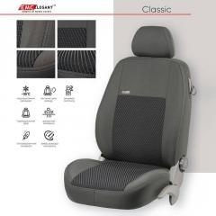 Чехлы на сиденья EMC-Elegant Toyota Auris с...