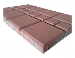 Brick road (100Х200Х60 mm)
