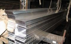 Алюминиевая полоса,  шина 10х100 мм АД31