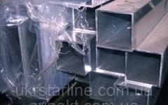 Алюминиевая труба прямоугольная 20x10x1 мм...