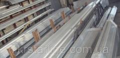 Алюминиевый швеллер 35х20х1,5 мм АД31 Т5 анодований