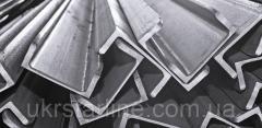 Алюминиевый швеллер, 20х20х2,0 мм, без покрытия