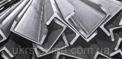 Алюминиевый швеллер,  30х13х1, 5 мм,  без...