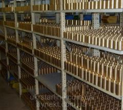Втулка бронзовая БРАЖ9-4 ОЦС555 от ф40 до...