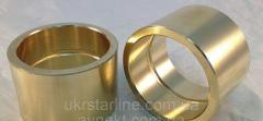 Втулка бронзовая бронза БрО10Ф1 БрАЖ Л9-4 ф40-160мм со стенкой от 7мм