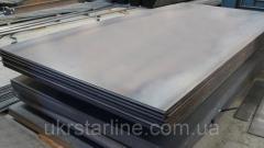 Гладкая листовая сталь 45,  25, 0 мм