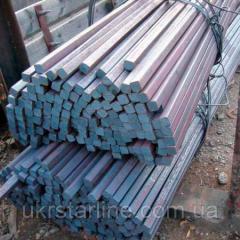Квадрат из нержавеющей стали,  8 мм