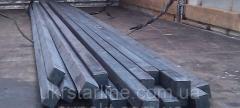 Квадрат стальной №50 ст.20 ГОСТ2591-884-6 стальной. Доставка по Украине.