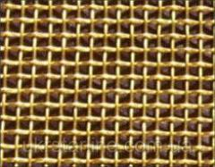 Латунная тканая сетка, 0,08-0,055 мм