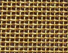 Латунная тканая сетка, 0,09-0,06 мм