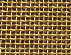 Латунная тканая сетка, 0,16-0,1 мм