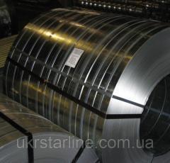 Лента пружинная сталь 65Г (каленая, полированная) 0,3х100мм