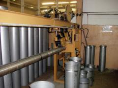 To buy a metalwork for ventilating systems,