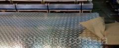 Лист алюмінієвий рифлений квінтет 2х1500х3000