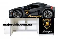 Кровать машина чердак машинка Ламборгини