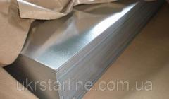 Лист стальной оцинокованный 1.5х1500х3000 мм хк холоднокатанный
