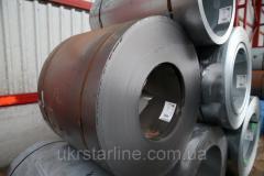 Листы стальные в рулонах хк 2,5мм