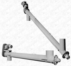 Шнековый транспортер Ø168 мм для песка, золы,