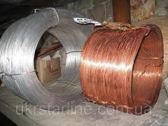 Проволока Алюминиевая диаметр: 2,0; 3,0; 4,0; 5,0; 5,5; 6,0; 7,0; 8,0; 10,0 мм