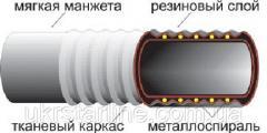 Рукав O 100 мм напорный штукатурный для абразивов