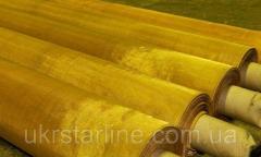 Сетка тканая латунная 1х0,4 мм