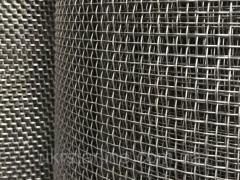 Сетка тканая низкоуглеродистая сталь,  1,...