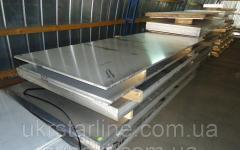 Титановый лист ВТ1-0, 6х1000х2000 мм ГОСТ