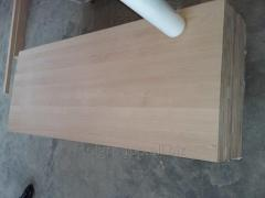 Furniture board BEECH. Export