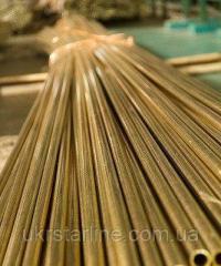 Труба латунная диаметром 40х1.0 мм Л63 3м\п
