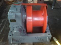 The winch shunting LM-71 with the mechanism of
