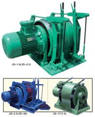 Auxiliary mine winch 1LShV-01