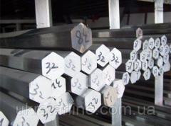 Шестигранные алюминиевые прутки