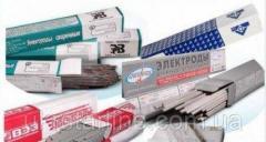 Электроды нержавеющие ЦЛ11, ОЗЛ-6, ОЗЛ-8 ф 2 мм