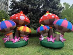 Inflatable figure stage decoration mushrooms 3