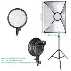 Комплект - 168 LED свет (48 Вт, 3200K-5600K) +