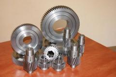 Зубчатые колеса, шестерни изготовление,