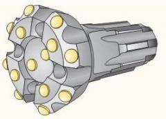 Non-coring bits of KNSh-105 PMKE40, KNSh-105